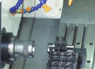 CK6136ZX数控车床(排刀机)内部结构