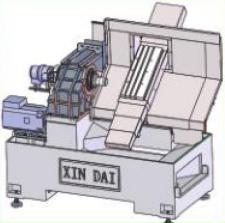 CK6136ZX数控车床(排刀机)铸件结构
