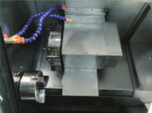 XD-V60K数控车床(结构图)